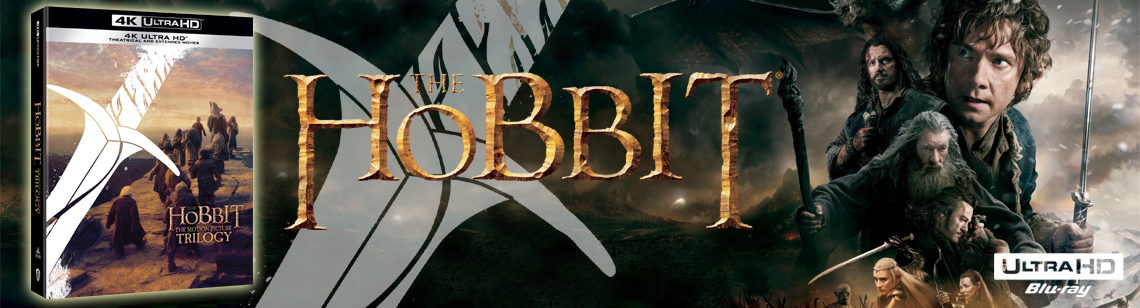 Hobit filmová trilogie: Prodloužená a kinová verze 6BD (UHD)